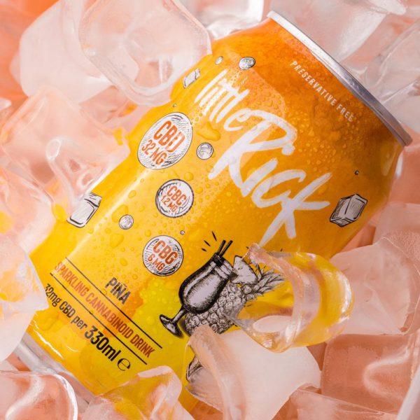 Pina colada CBD drink little rick by natures alternatives netownards