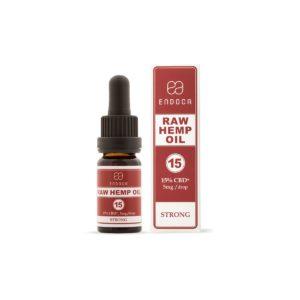 Endoca Raw 1500mg CBD + CBDA hemp oil natures alternative