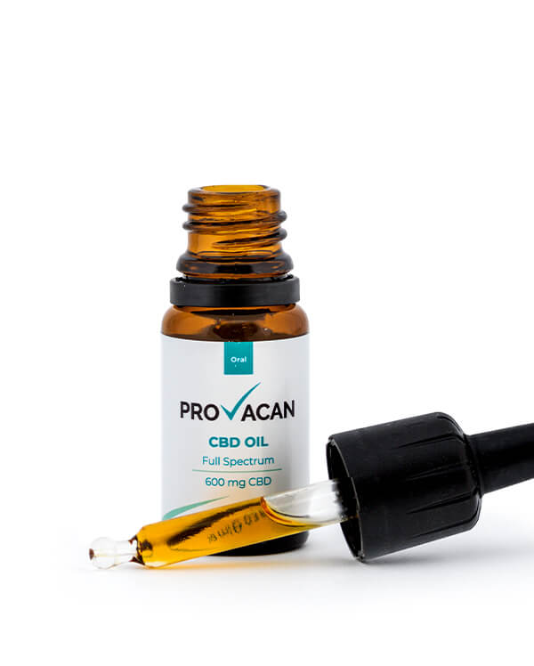 Provacan cbd oil 600mg by natures alterative
