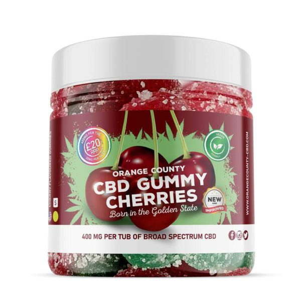 CBD Gummies Cherry Flavoured newtownards and belfast sold by nature's alternative