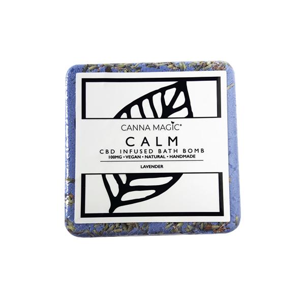 calm canna magic cbd bathbomb belfast netownards natures alternative