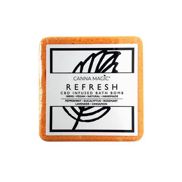 refresh canna magic cbd bathbomb belfast newtownards natures alternative