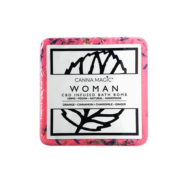 woman canna magic cbd bathbomb newtownards belfast natures alternative